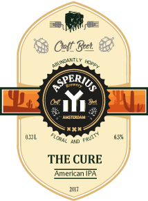 THE CURE 6.5 % Alc.